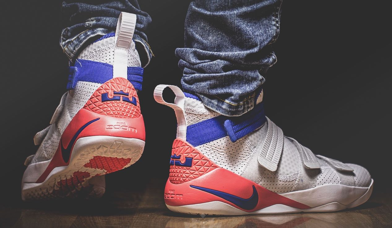 de8392fa5070e Nike LeBron Zoom Soldier 11 Ultramarine