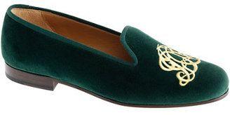 ShopStyle: Stubbs & Wootton® for J.Crew classic velvet slippers