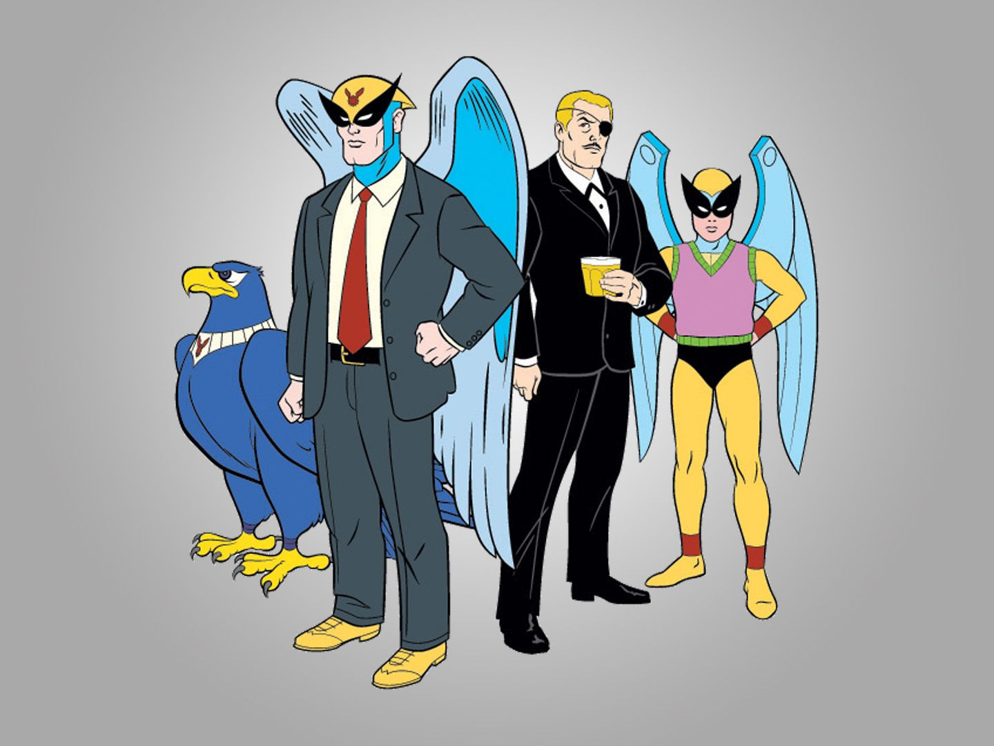Harvey Birdman, Attorney at Law Wallpaper and Background Image ...