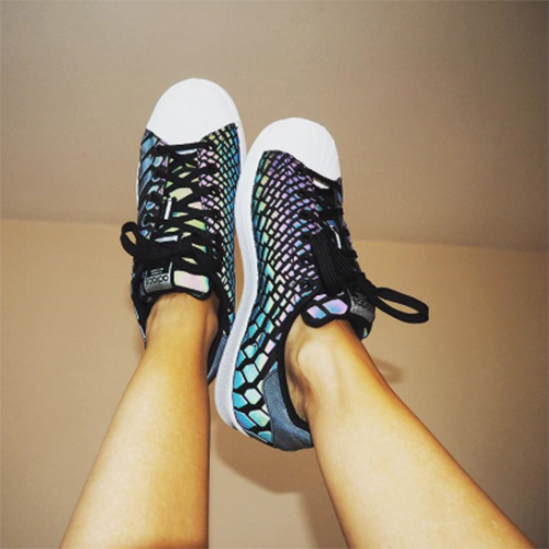 d57f97aeaed73 Yani rockin  the adidasOriginals Womens Superstar Xeno Trainer ...