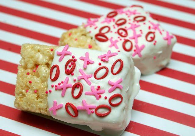 Hugs & CookiesXOXO: VALENTINE RICE KRISPY TREAT IDEAS