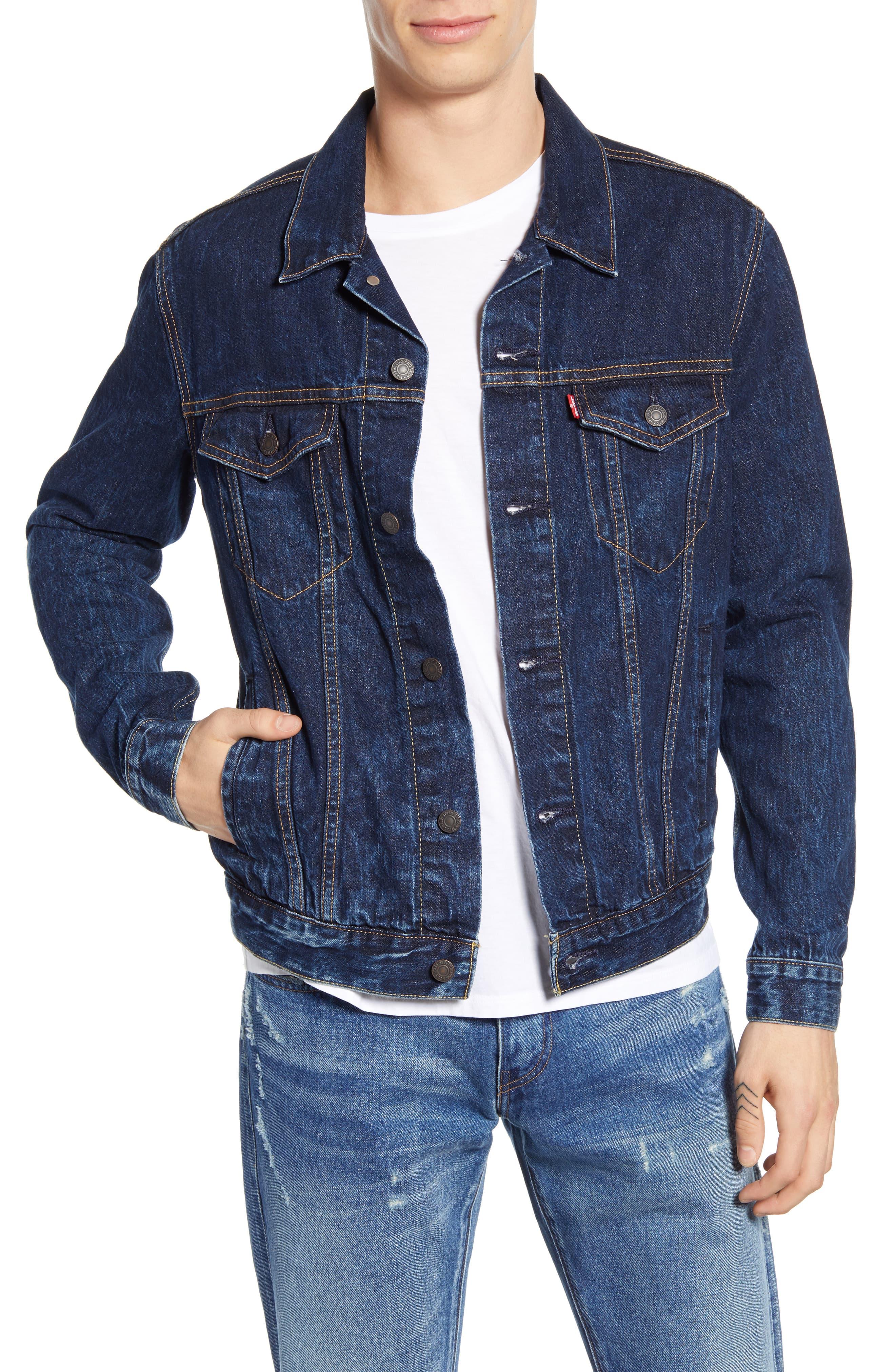 Levi S Denim Trucker Jacket Nordstrom Jackets Men Fashion Denim Outfit Men Denim Jacket Outfit [ 4048 x 2640 Pixel ]
