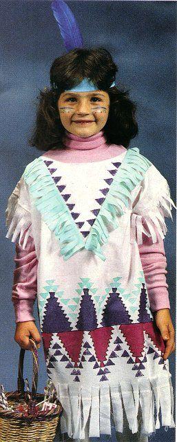 Pillowcase Indian Costume