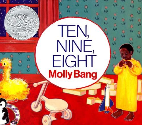 Ten, Nine, Eight by Molly Bang is great for babies through toddlers and preschoolers too.  One of our favorite children's books about bedtime.