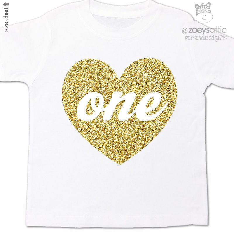 bfbe262613f personalized kids shirt, sparkly heart birthday girl, glitter t-shirt or  bodysuit