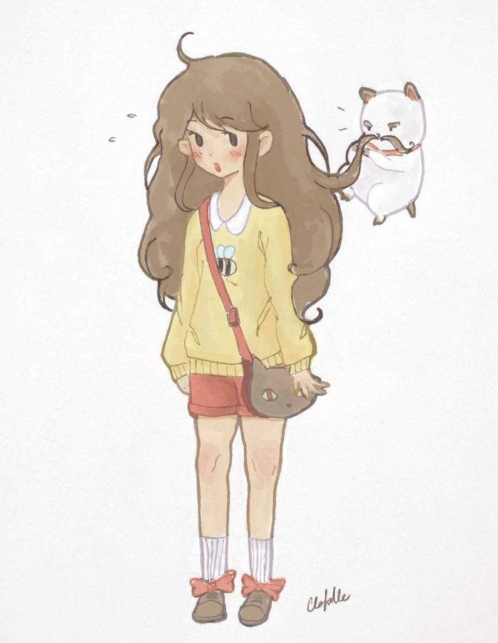 Bee and Puppycat Oh my god, this is real cute yo.