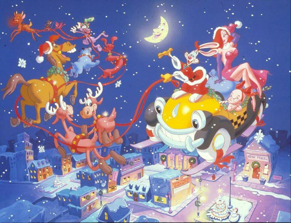 Roger Rabbit Christmas | DisneyBackyard | Pinterest