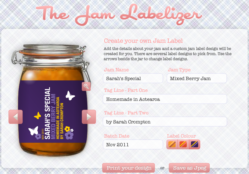 Kate S Short And Sweets Design Your Own Canning Label