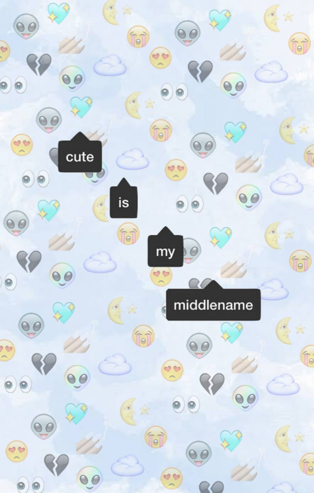 I Dont Give A Credit So Feel Free To Use Emoji Lockscreen