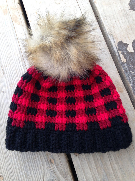 Buffalo Plaid winter hat 6596925b3845