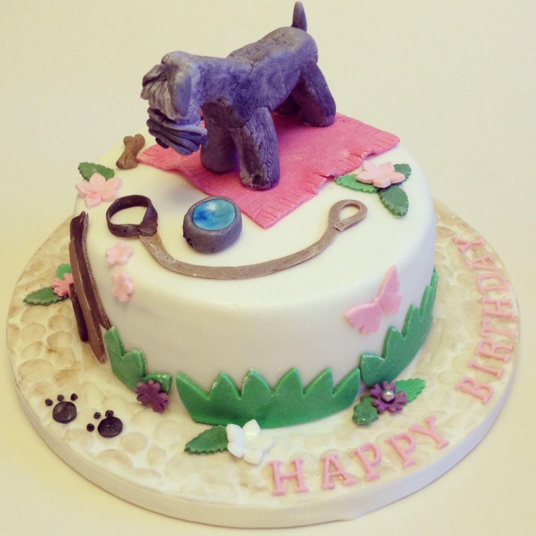 Schnauzer dog cake Food Pics for CatsterDogster Pinterest