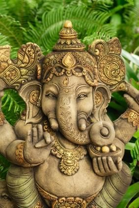 Ganesha - Mighty Lord, remove the obstacles and limitations that keep me from living my full Divine Perfection!