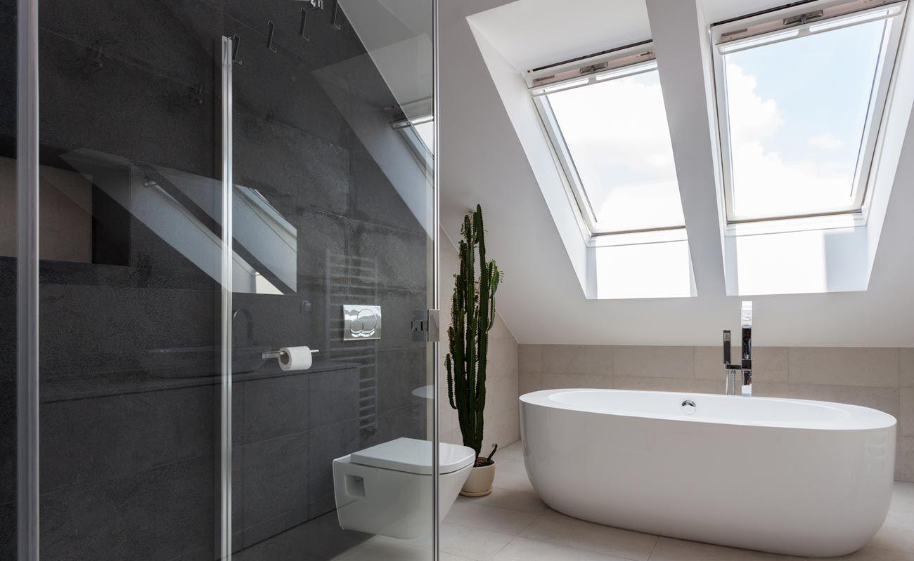 Dachbäder: Fünf Ideen für das Badezimmer unterm Dach | Bad ...