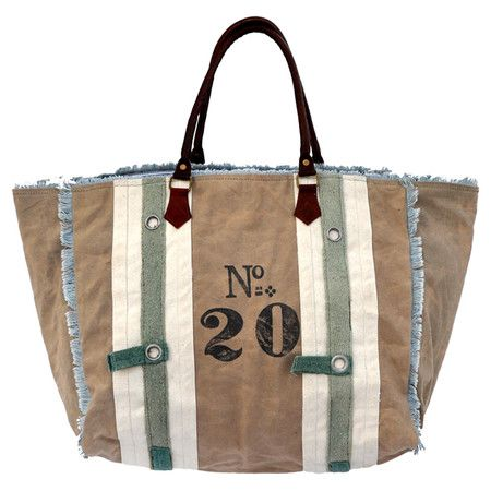 Perfect paired with your new boots or leather jacket, this lovely canvas tote carries your day-to-day essentials in country-inspired style. ...