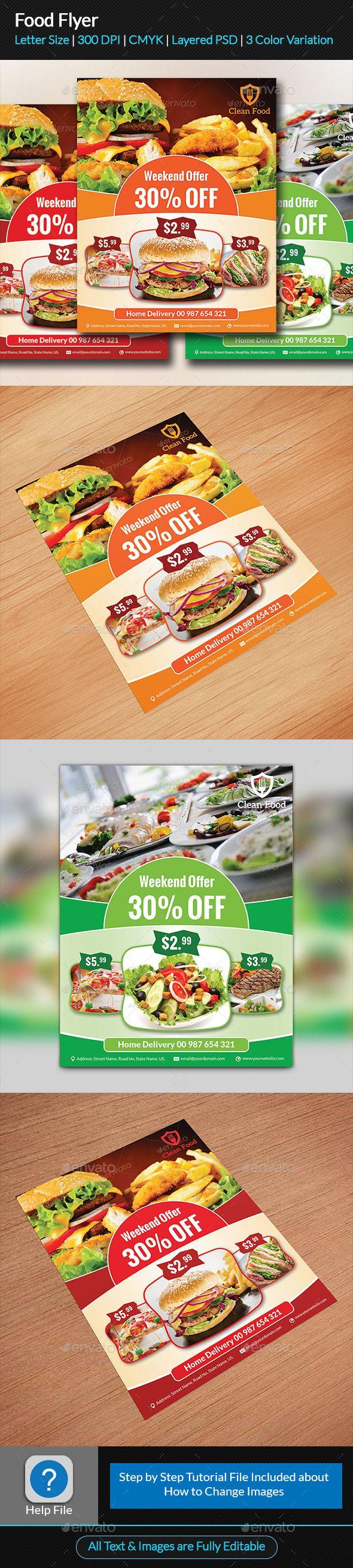 food flyer flyer template leaflet design and restaurant branding