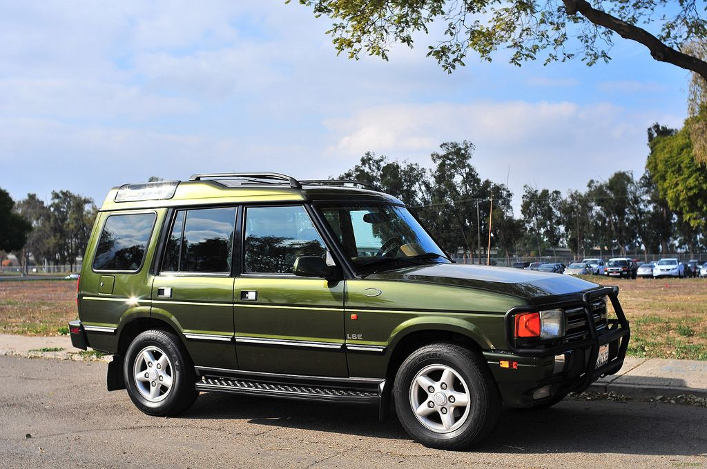 1998 Land Rover Discovery Lse Olive Green Metallic Fvr Great Park 001 Land Rover Discovery Land Rover