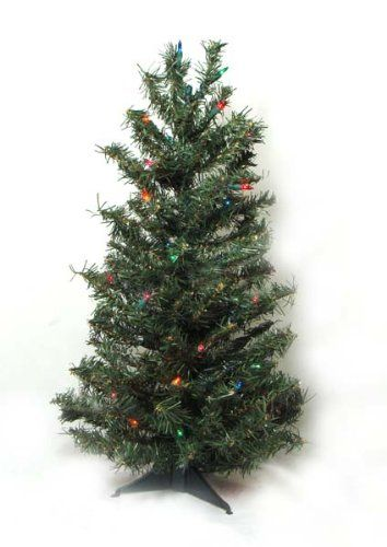 19 99 29 99 3 Pre Lit Canadian Pine Artificial Christmas Tree Multi Color Lights 3 Foot Pr Artificial Christmas Tree Christmas Tree Cool Christmas Trees