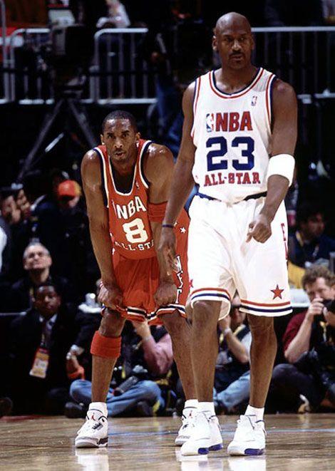 6479a9be2f5 Michael Jordan Kobe Bryant NBA All-Star Game | Hoops | Kobe bryant ...