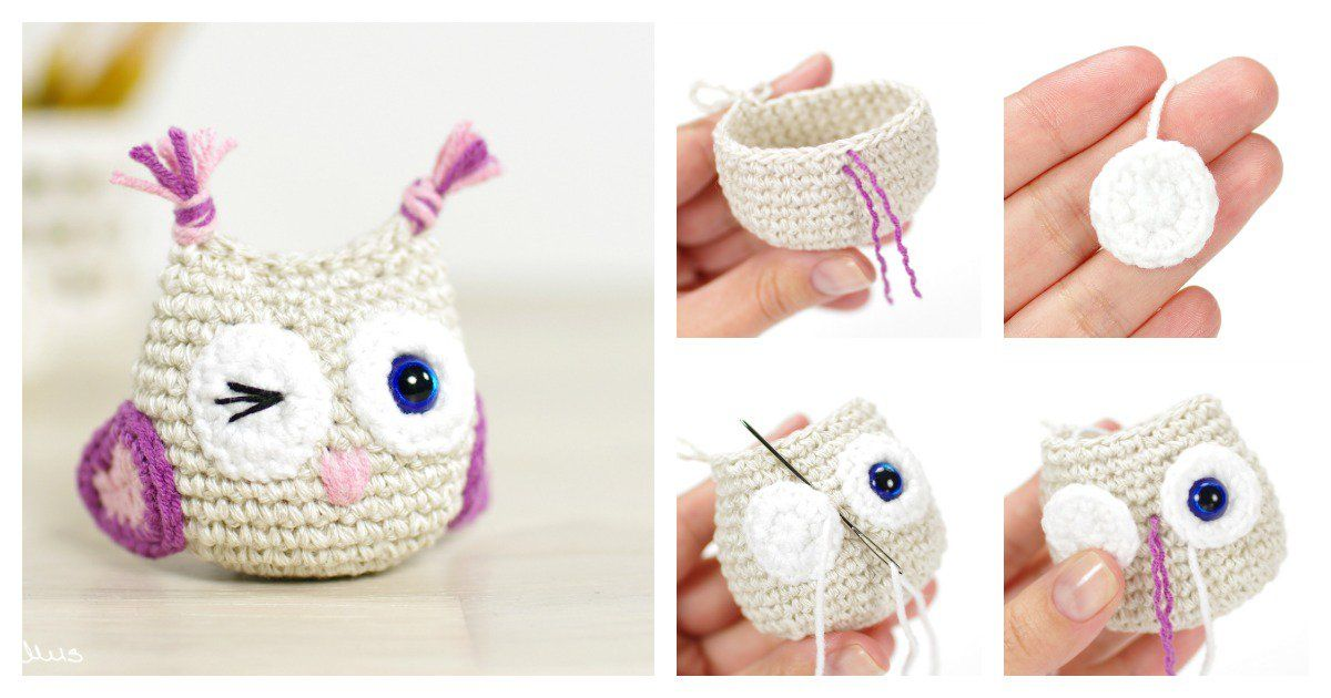 DIY Crocheted Owls with Free Patterns | Crochet | Pinterest ...
