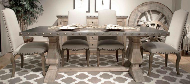 Comedores vintage - cómo decorarlos con un toque retro - | Muebles ...