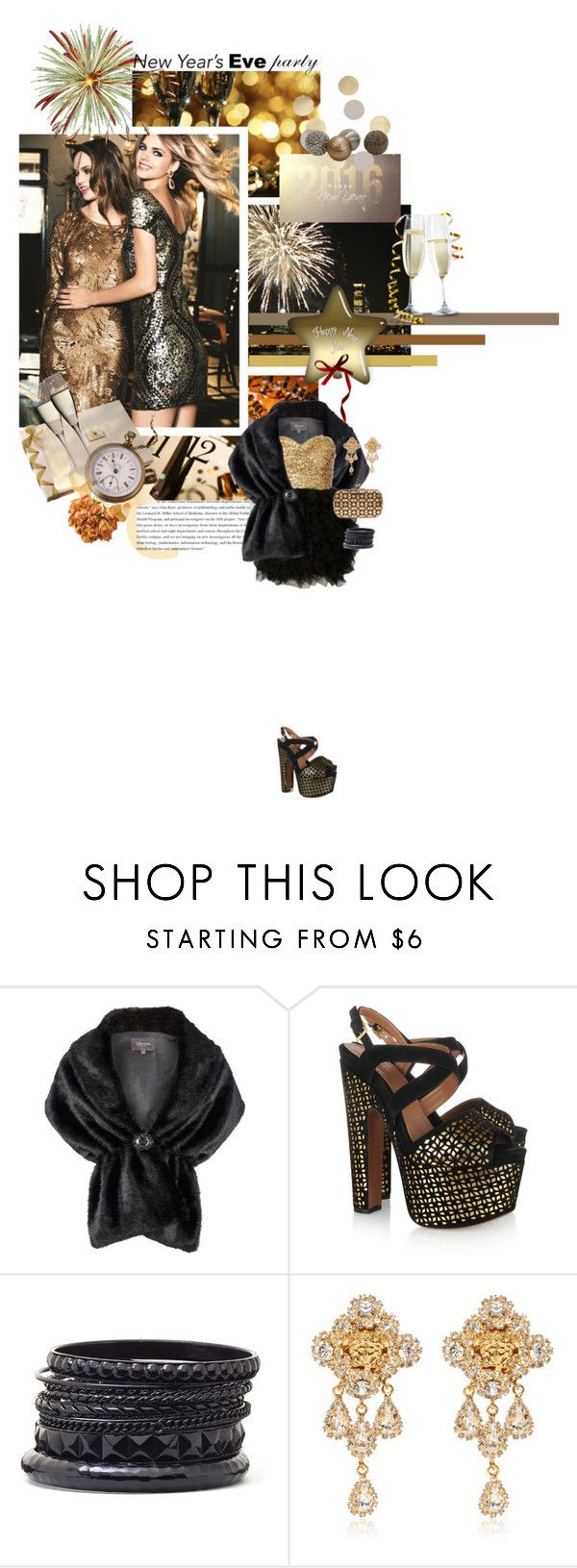 """party on, guys and dolls."" by sinesnsingularities ❤ liked on Polyvore featuring Alexon, Alaïa, Worthington, Versace, Urban Expressions, polyvorecommunity, contestentry and nyestyle"