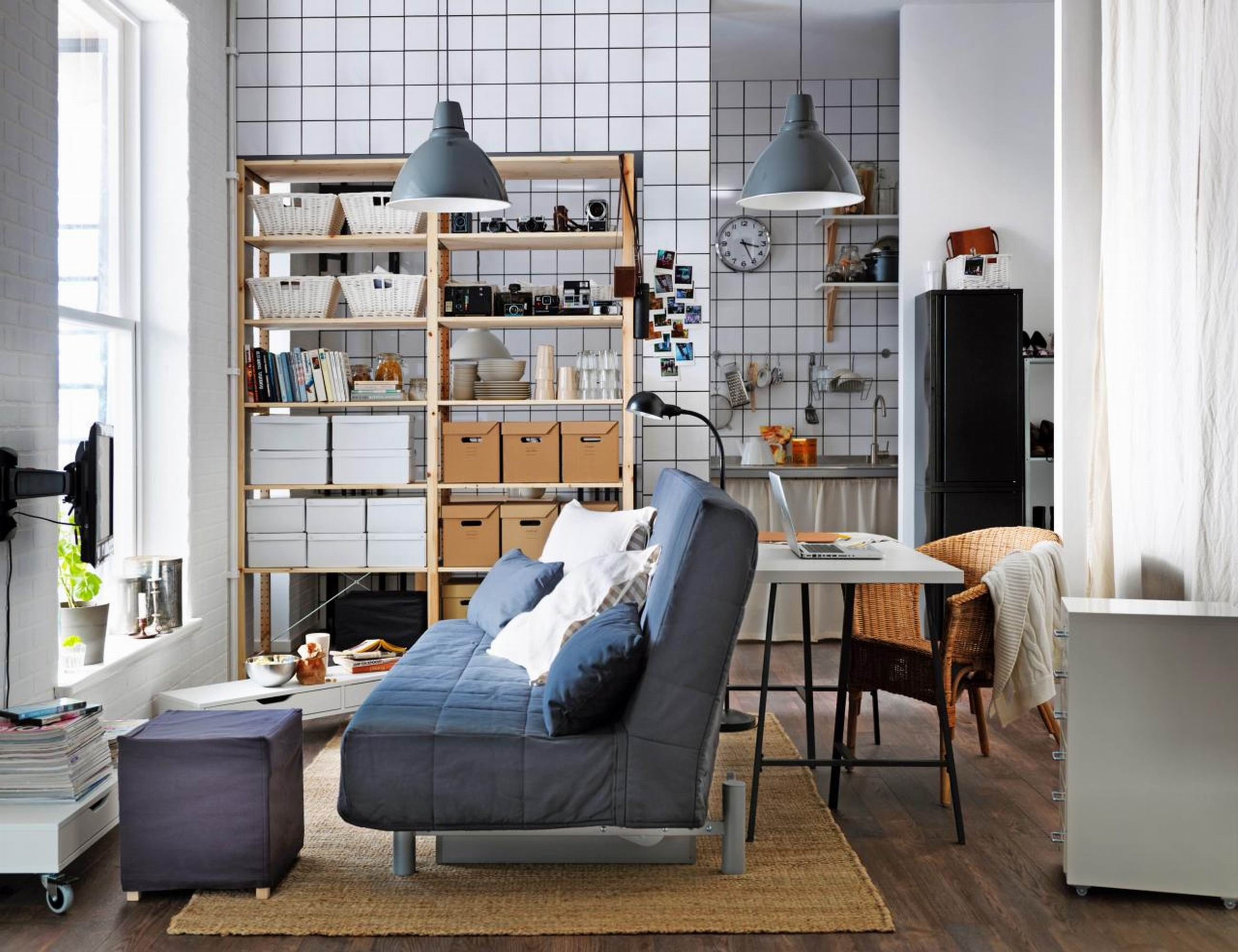 Kleines 2 schlafzimmer hausdesign kleines wohnzimmer ideen ikea  nachtschränke in das moderne