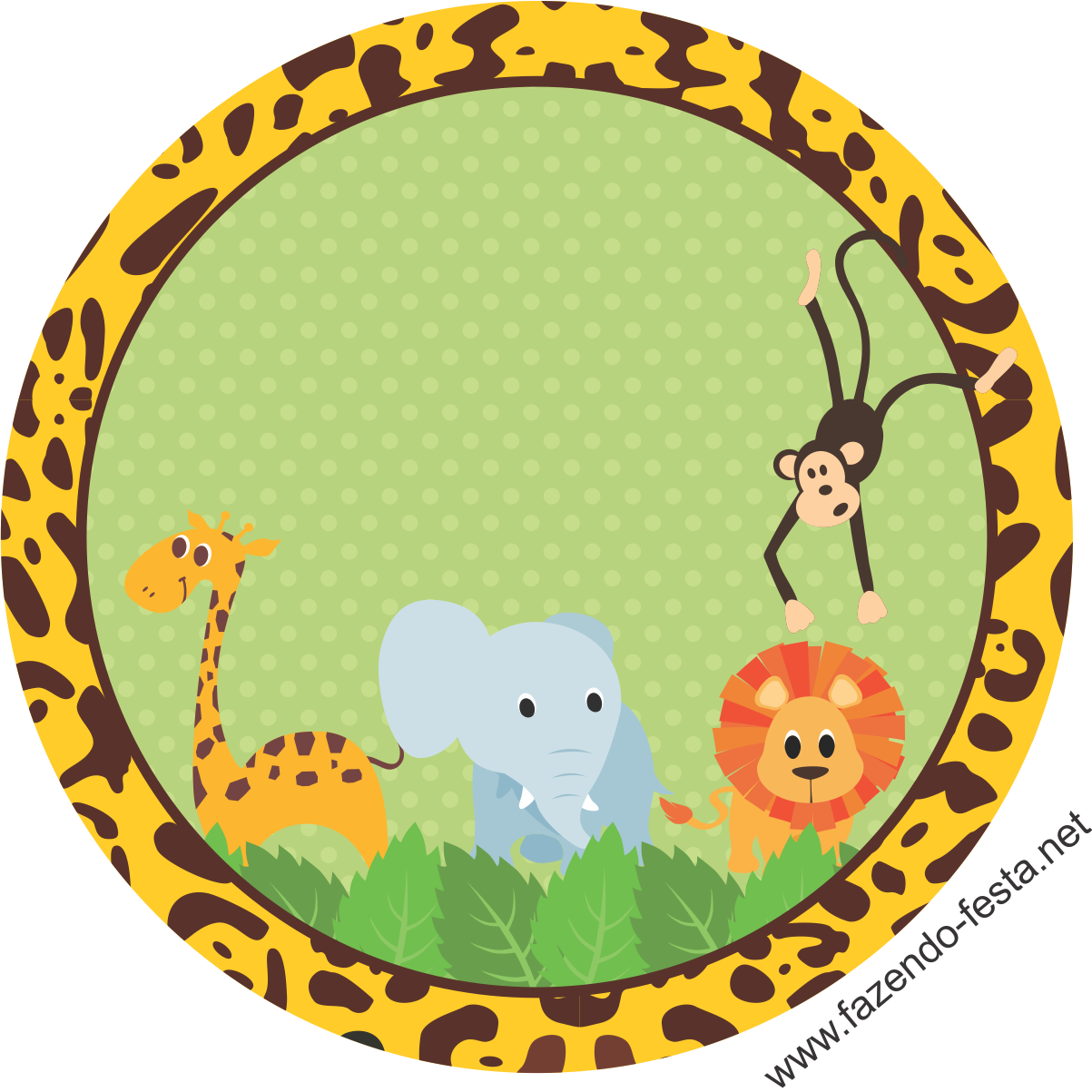 Adesivo Safari ~ kit festa safari adesivo sacolinha Festa Safari menino Pinterest Kit festa safari, Festa