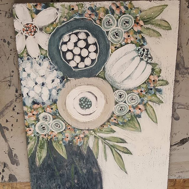 Flowers flowers flowers!!Canterburycottage Acrylic