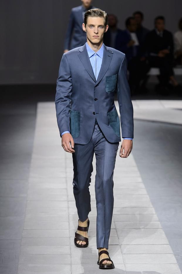Men's suits 2016 fashion trends: Blue suits | f/w 2017 mens ...