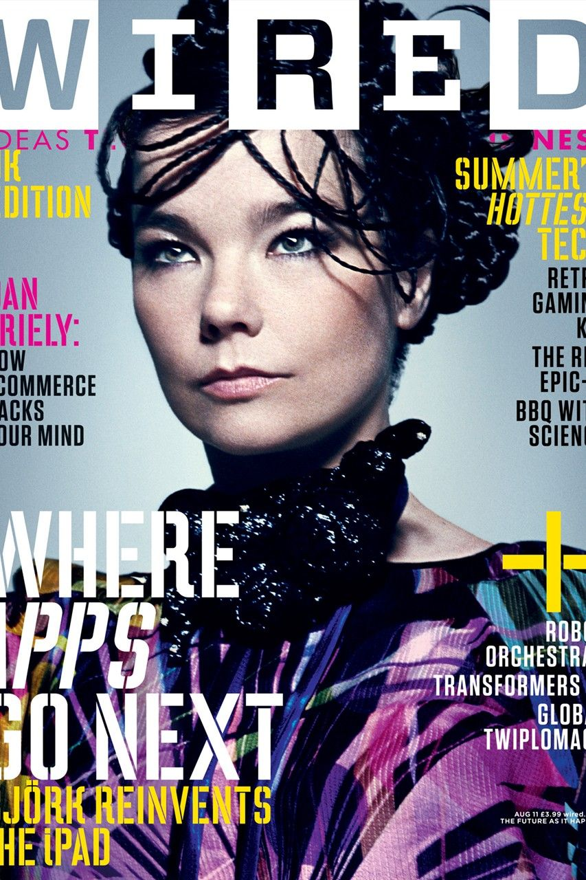 Articles from the August 2011 issue of Wired magazine | BJÖRK ...