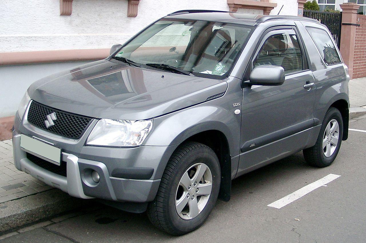 Suzuki Grand Vitara 3d Suv