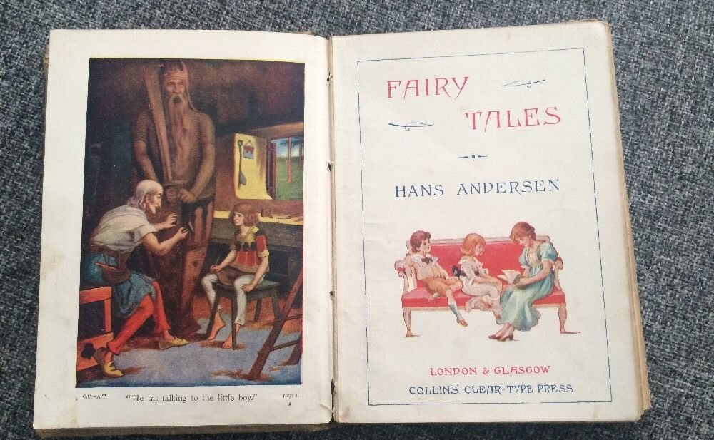 Fairy Tales Hans Andersen Colour Illustrations Early 1900's Little Mermaid | eBay