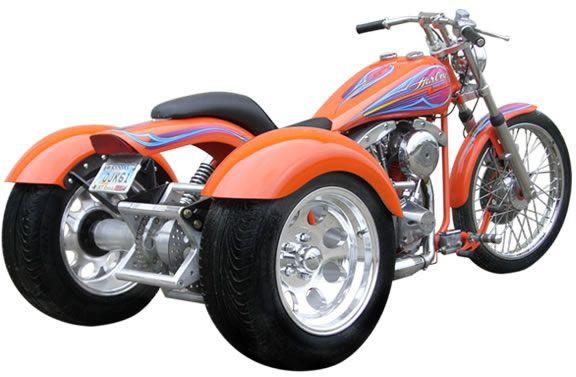 Frankenstein Trike Conversion Kits Harley Davidson 4 Speed Customer Photos