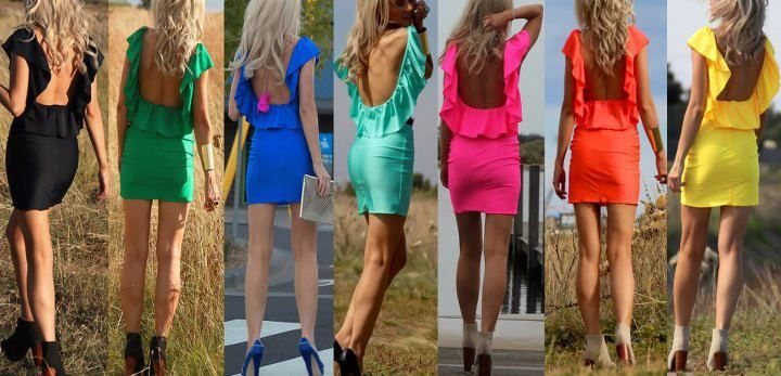 Dress lindo color ,qual a cor favorita ?!