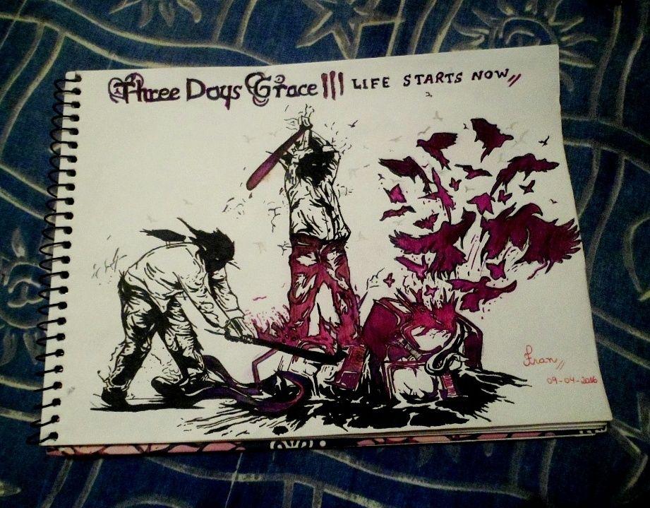 Life Starts Now Three Days Grace Three Days Grace Tree Day Fan Art