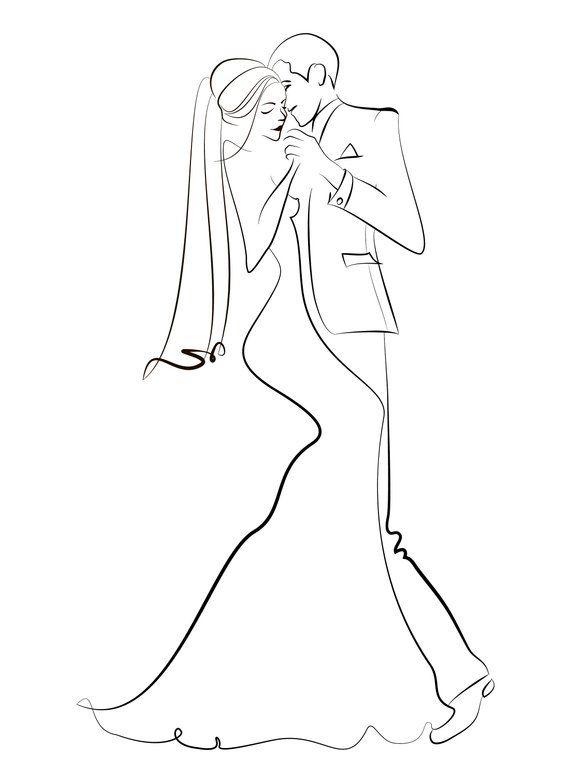 Wedding Clip Art Vector Wedding Clipart Instant Download Wedding