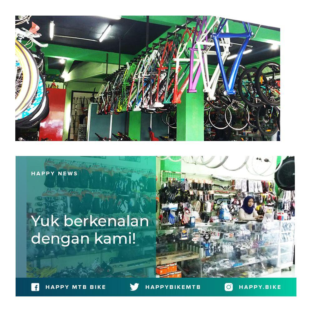 Yuk Kenali Happy Mtb Bike Lebih Dekat Happy Mtb Bike Adalah Distributor Resmi Maxxis Dan Kmc Di Indonesia Selain Itu Kami Juga Memega Stout Mtb Indonesia