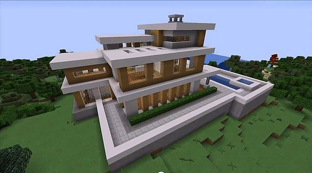Coolmodernhousemap1jpg 637353 Minecraft Designs