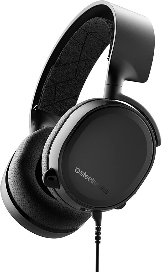 Amazon Com Steelseries Arctis 3 All Platform Gaming Headset For Pc Playstation 4 Xbox One Nintendo Switch Vr Andro Gaming Headset Steelseries Headset