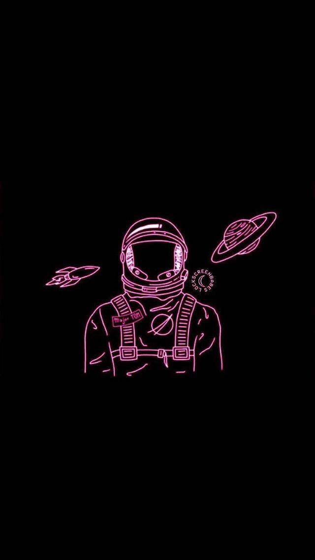 Истории • Instagram in 2020 Neon wallpaper, Astronaut