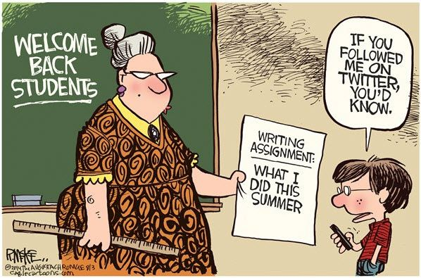 if you followed me on twitter... | Cartoons online learning ...