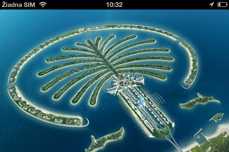 Palm Jumeirah نخلة جميرا Palmeninsel Dubai Dubai Architektur Palm Jumeirah