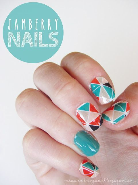 Miss Audrey Sue Blog Nail Art Jamberry Nails For The Girls