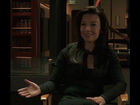 On Set at Marvel's Agents of S.H.I.E.L.D. with Ming-Na Wen