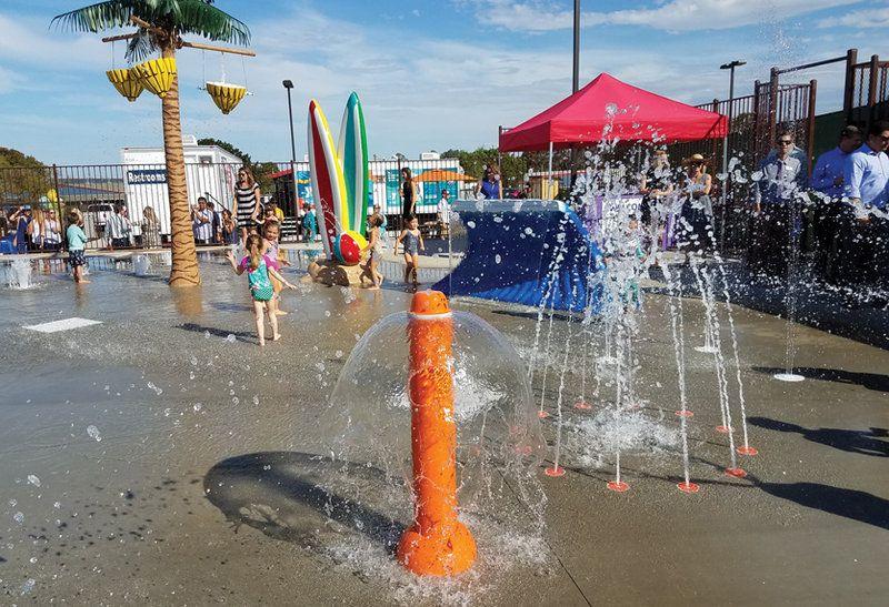 YMCA La Jolla Splash Pad Ymca, Splash, Grand opening