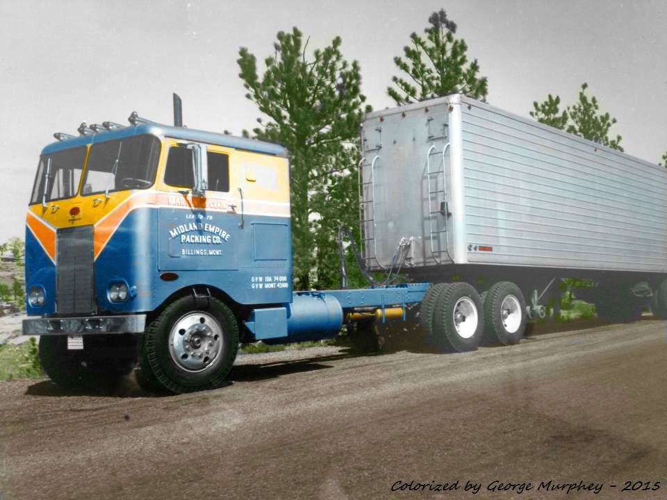 from George Murphey collection for Cabover Fans | Trucks and Truck