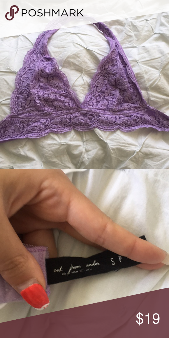 c161ab001b Out From Under Bralette Purple bralette from Urban Outfitters (Out From  Under) Size S Urban Outfitters Intimates   Sleepwear