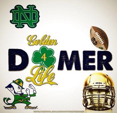 Domer For Life Notre Dame Irish Notre Dame Football Notre Dame Fighting Irish