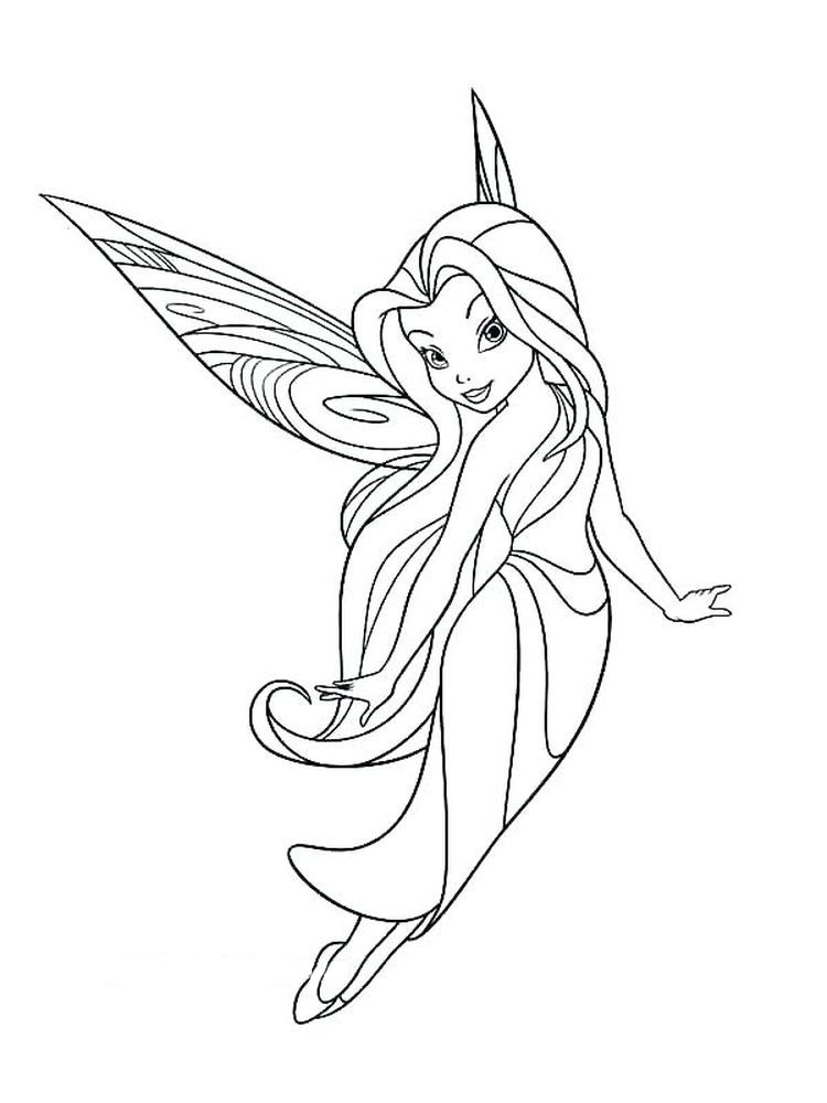Coloring pages «Fairies and Elves» - Coloring pages for you | 1000x750