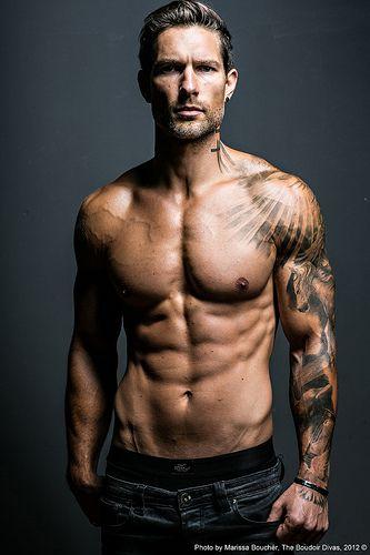Weston Boucher 018 Weston Boucher Mens Body Tattoos Tattoo Sleeve Men